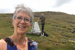 Alison-and-Neil-Gunn-at-the-Trig-point