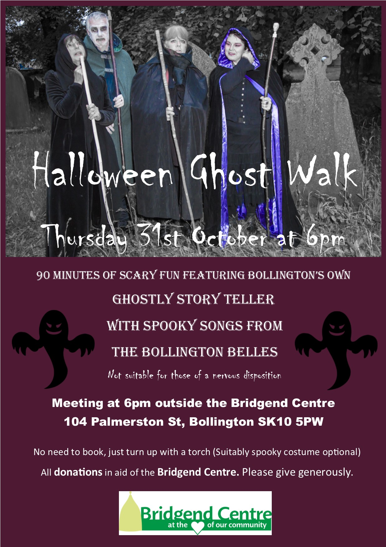 Halloween Ghost Walk